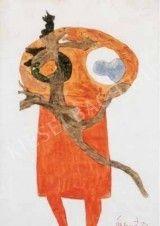 Bálint Endre (1914-1986) híres magyar festő, grafikus - Kieselbach