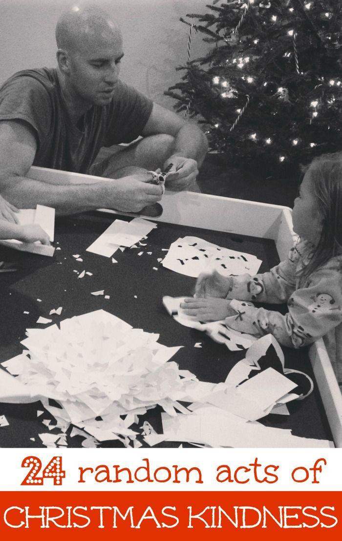 I love the idea of Random Acts of Christmas Kindness!