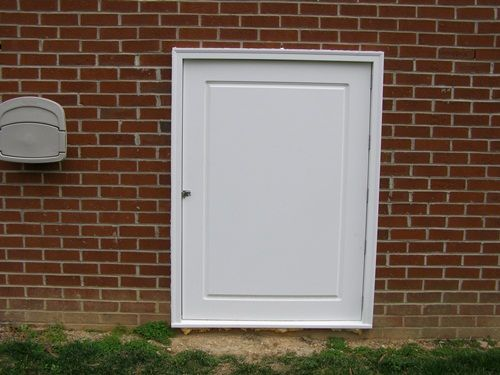 Custom PVC Crawl Space Access Doors By Curb Appeal Products. Attractive And  Low Maintenance Crawl Space Doors And Access Doors, Custom Made To Any Size  Or ...