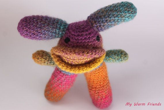 Fantasy Monsters  Amigurumi Monsters  Crochet Toy by MyWarmFriends, €12.00