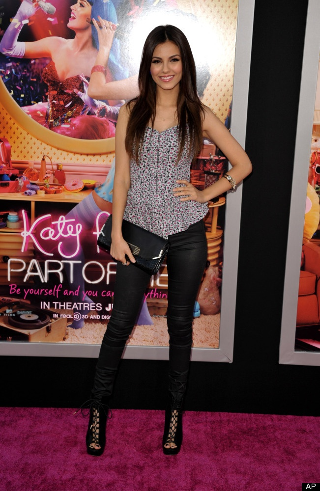 """Victoria Justice debuted as an actress at the age of 10 and has appeared in several Nickelodeon series including """"Victorious"""" and """"Zoey 101"""". Justice is of Puerto Rican descent on her mother's side and English, German, and Irish on her father's side."""