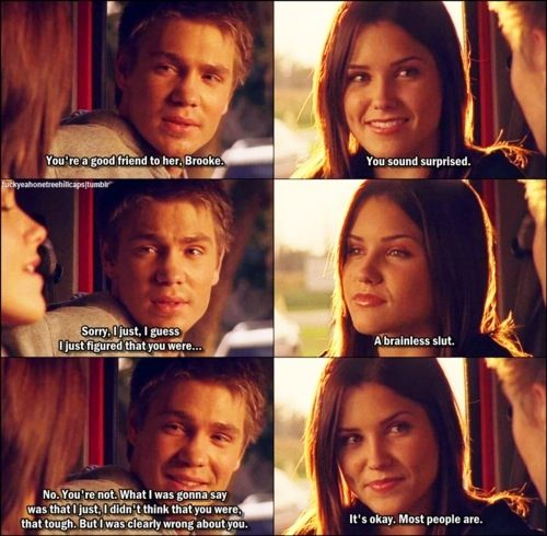 One Tree Hill Final Episode Quotes: One Tree Hill - The Beginning Of Brooke And Lucas