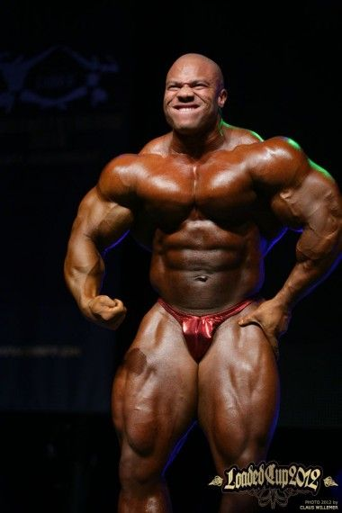 2012 Loaded Cup, Denmark Guest Poser Phil Heath