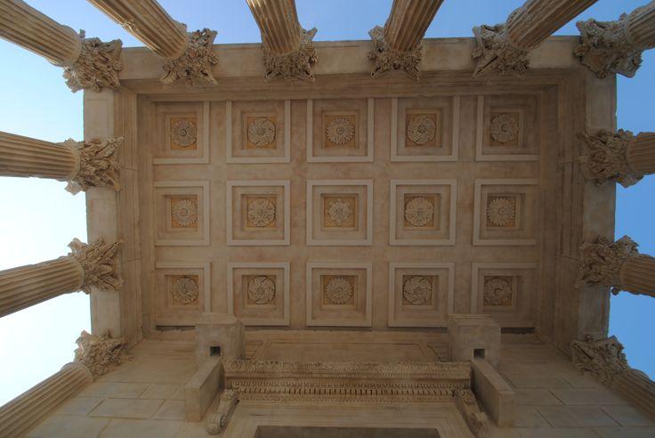 Plafond du Pronaos