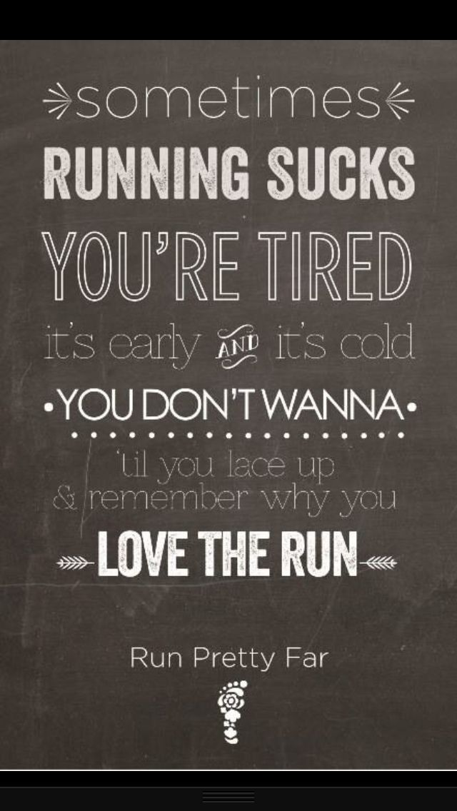 More running motivation