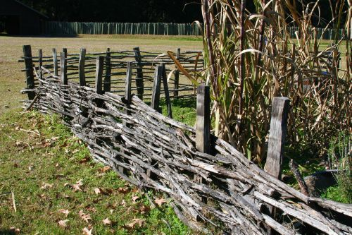 Love This Colonial Garden Fence Woven So Pretty For A
