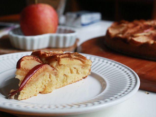 Torta de Maçã da Nigella. Receita completa em http://gordelicias.biz.