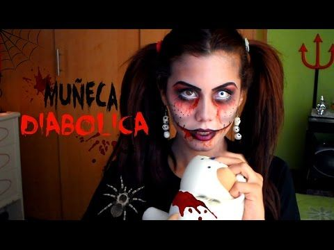 Muñeca Diabólica - Halloween ♥ Mery Alicee - YouTube