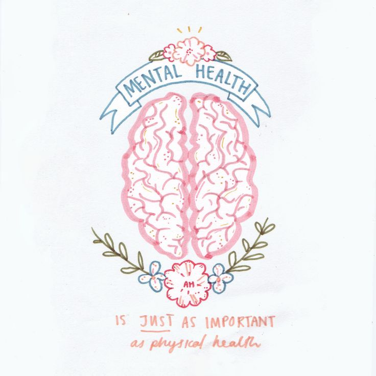 Mental health is just as important as physical health | mindfulness