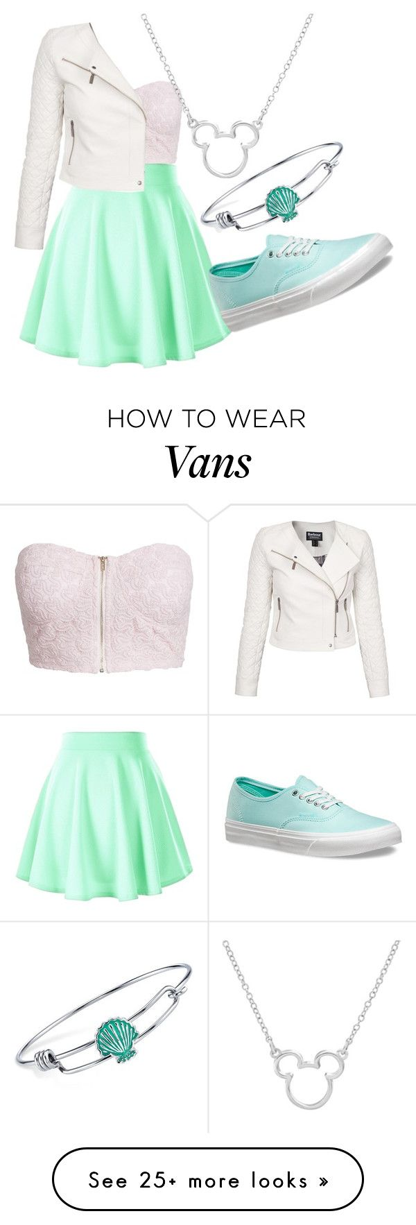 """Pastel"" by indianna28-2002 on Polyvore featuring NLY Trend, Barbour International, Vans and Disney"
