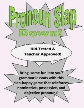 Free: This download includes:  *26 Pronoun Cards (& blank cards for you to program if you choose) *Game Directions *Answer Key *Label to place on ...