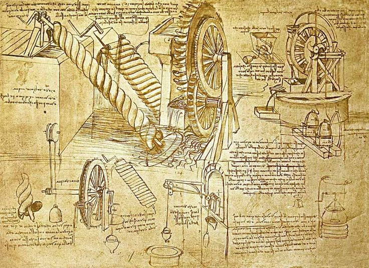 Leonardo da Vinci's inventions---The Rascal (age 7) is very eager to learn about da Vinci this year!