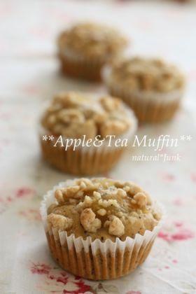 「Apple Tea Muffin」Ryu   お菓子・パンのレシピや作り方【corecle*コレクル】
