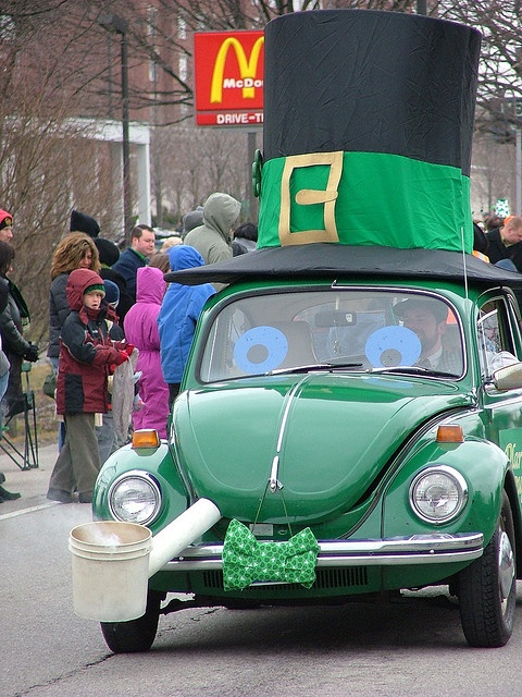 Cool Parade car for St Patricks Day parade in Dublin, Ohio by absoblogginlutely, via Flickr