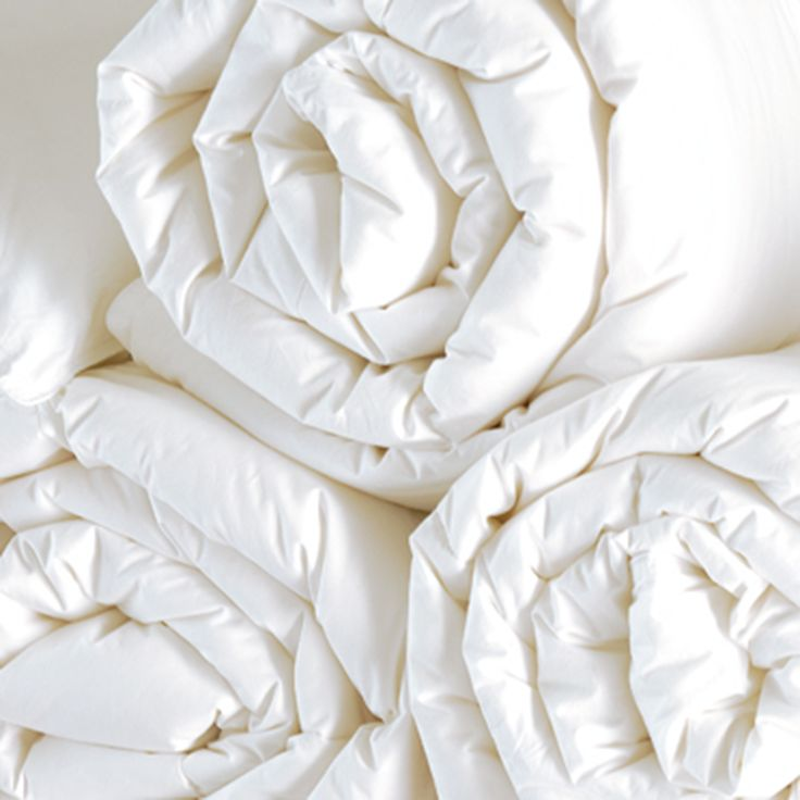Comforter Carte Blanche Filling 100% Goose Feather Outer fabric Microfiber (2layer)