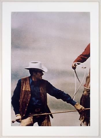 RICHARD PRINCE  Untitled (Cowboys), 1992