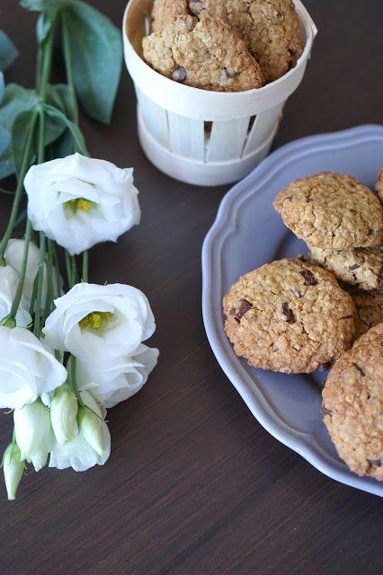 The Cook Time: Cookies aux flocons d'avoine et chocolat