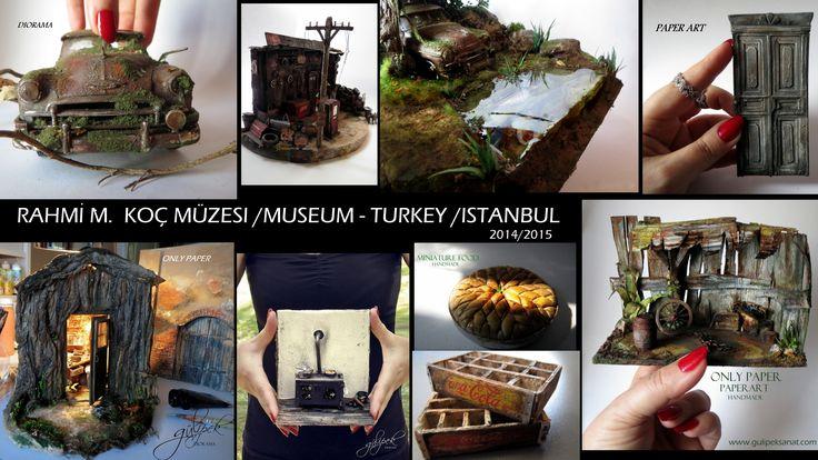 DIORAMA #museum #dıorama #autoart #paper #handmade #gulipeksanat #art #creavite #miniatures #miniaturefood #cars #old #doors #ıstanbul #artists #IAPM #rahmi_m_koç_müzesi