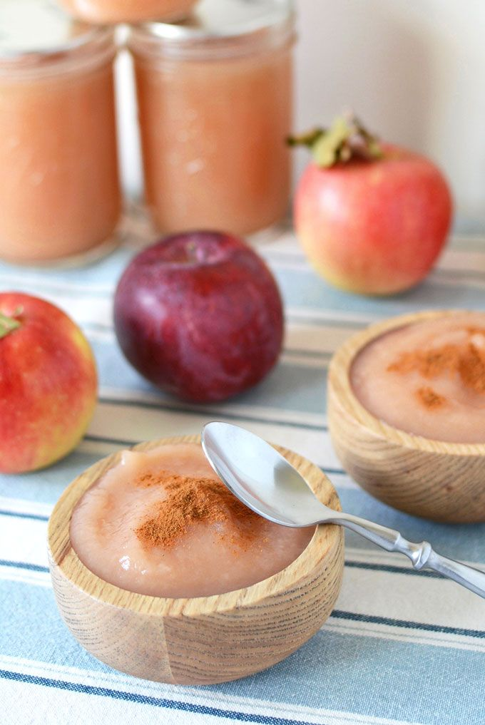 No Sugar Added Canned Applesauce