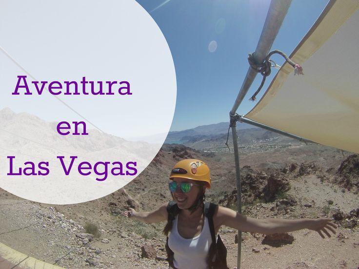 Aventura en Las Vegas. Tirolina en el desirto de Bootlel Canyon.