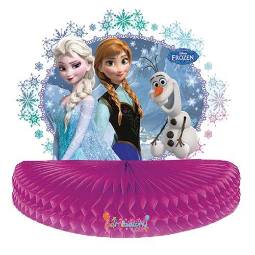 Frozen Masa Ortası Süsü Karlar Ülkesi Masa Ortası Süsü Ürün ÖzellikleriPakette 1 Adet Elsa Masa Ortası Süsü bulunmaktadır.Frozen Masa Ortası Süsü kendi paketinde gönderilir ve lisanslıdır.Elsa temalı masa ortası süsü boyutları 20*20*25 cm'dirDoğum Günü Partilerinin masa ortasının boş kalmaması amacıy