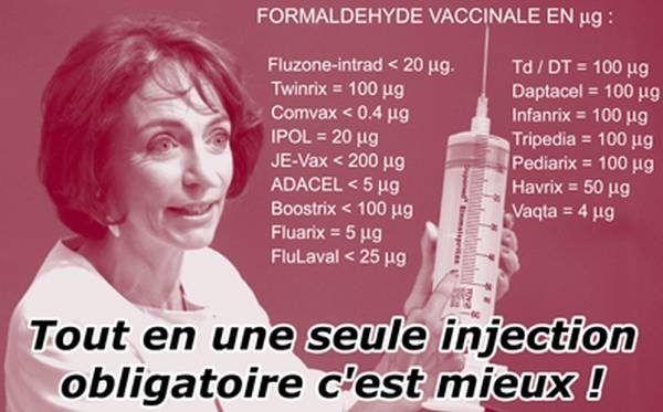 Le Comité pour la Vaccination piloté par Marisol Touraine a rendu son rapport public le 30 novembre 2016 - Il recommande de rendre obligatoire tous les vaccins présents dans le super-vaccin Infanrix Hexa. - Il recommande d'ajouter huit vaccins...