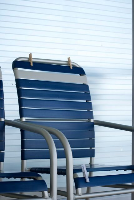 Bring some clothespins to dry your swimwear on the balcony chair:  My View...Independence of the Seas - Page 2 - Cruise Critic Message Board Forums