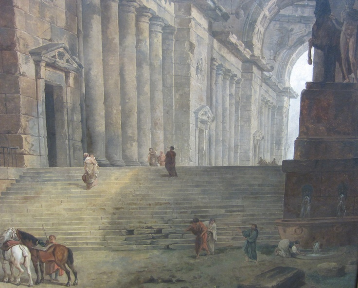 78 Best Images About Hubert Robert On Pinterest The Old