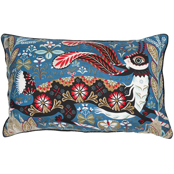 Running hare is a luxurious cushion designed by Klaus Haapaniemi. The cushion is…