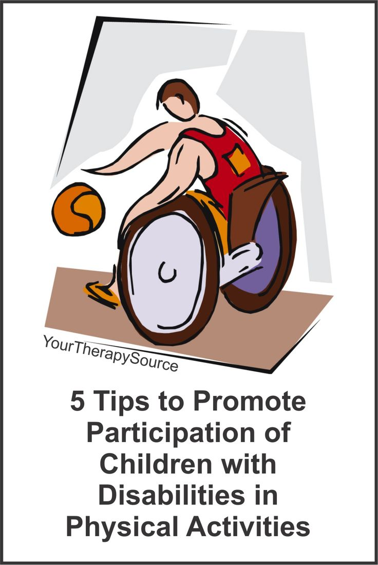 Cartoon physical therapy - 5 Tips To Promote Participation Of Children With Disabilities In Physical Activities M S