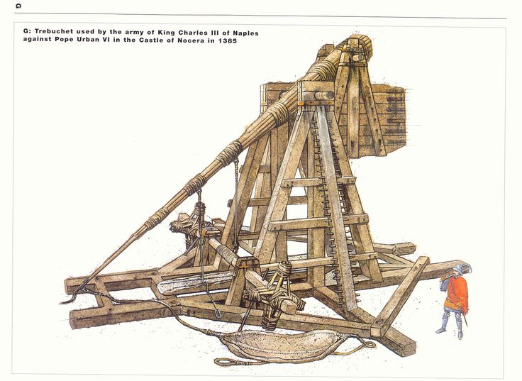 an overview of the trebuchet a medieval siege weapon The paperback of the the art of the catapult: build greek ballistae, roman onagers, english trebuchets,  the english trebuchet.