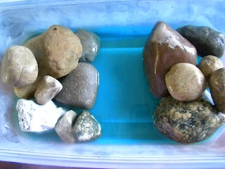 DIY Landforms- bodies of water and a cheap way to have the students get messy and create them