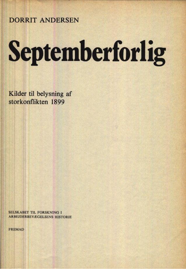 Septemberforliget Historie Undervisning Romantikken