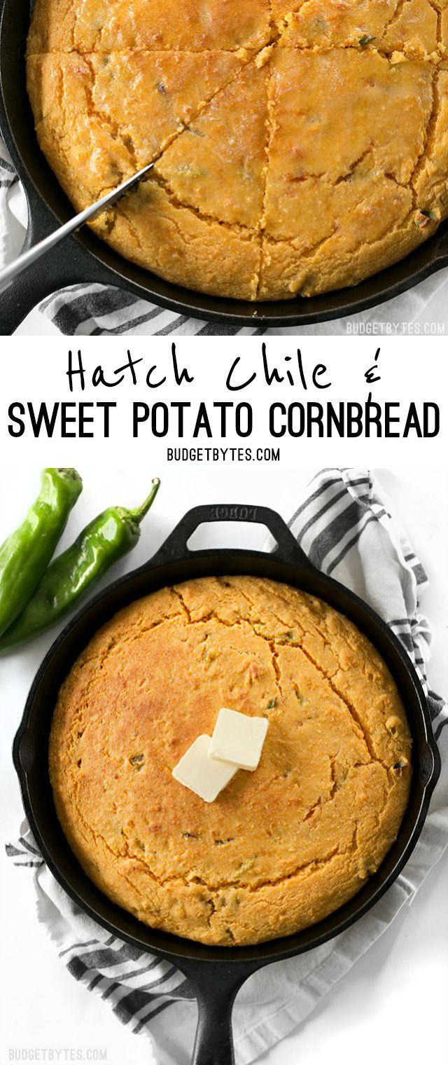 Sweet Potato Cornbread boasts the subtle sweetness of sweet potatoes ...