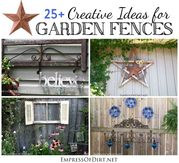 25+ Creative Ideas For Garden Fences