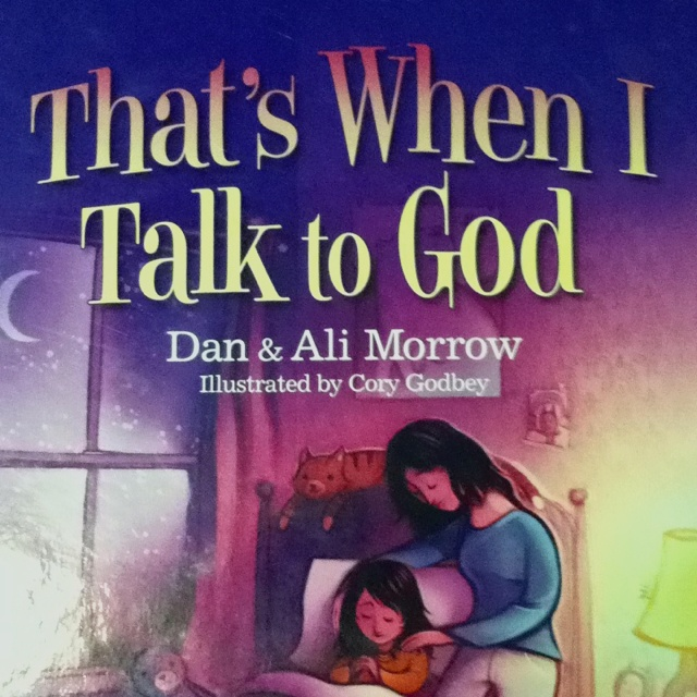 Great book to talk to kids about prayer! This little girl learns all the hows and whys of talking to God as she goes through an ordinary day. Models constant communication with God through gratefulness, praise, repentance, forgiveness, requests for self, intercession, listening... We love it!