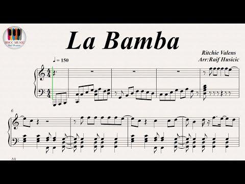 La Bamba - Ritchie Valens, Piano - YouTube