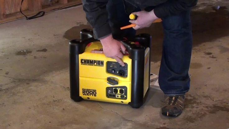 Review: Champion 2000 Watt Stackable Inverter Generator Part 1
