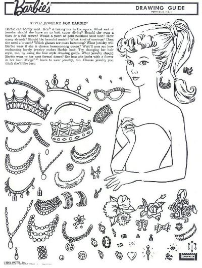Best Barbie A Instructions Images On Pinterest Barbie - Barbie hair style drawing