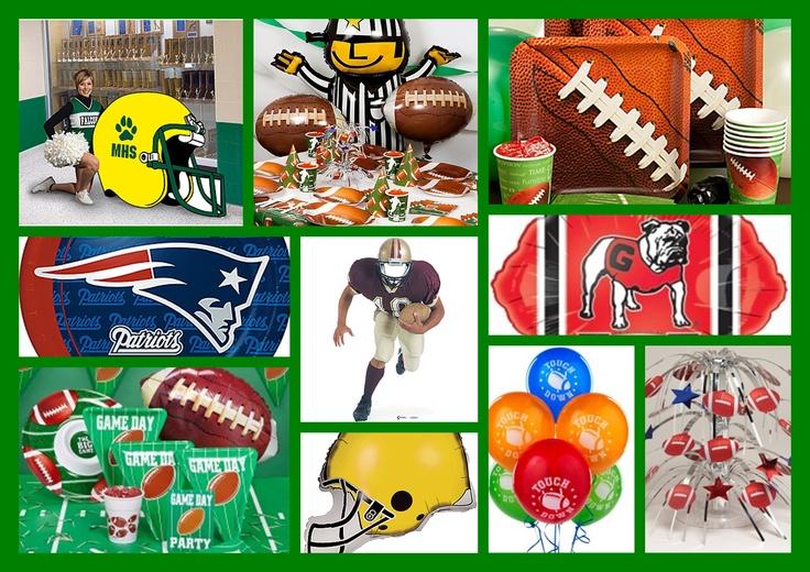 Football Theme Decor & Party Supplies