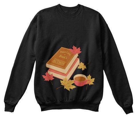 The Author Black Sweatshirt Front
