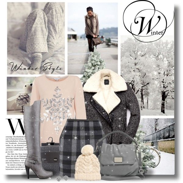 """People don't notice whether it's winter or summer when they're happy"" by kikusek on Polyvore"