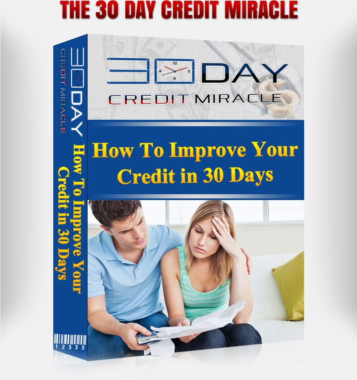 30 Day Credit Miracle Review