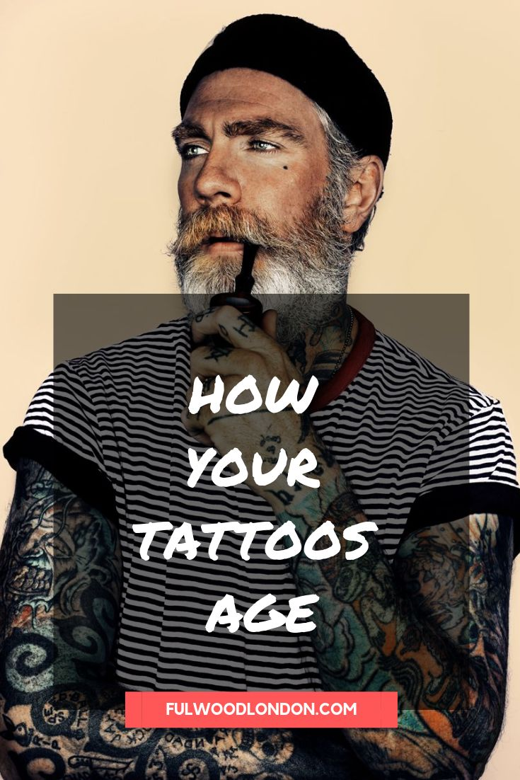 How tattoos age tattoo ageing old tattoo how to look