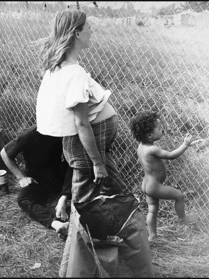 Woodstock, padres, madres y niños en el Festival - infanmusic | infanmusic