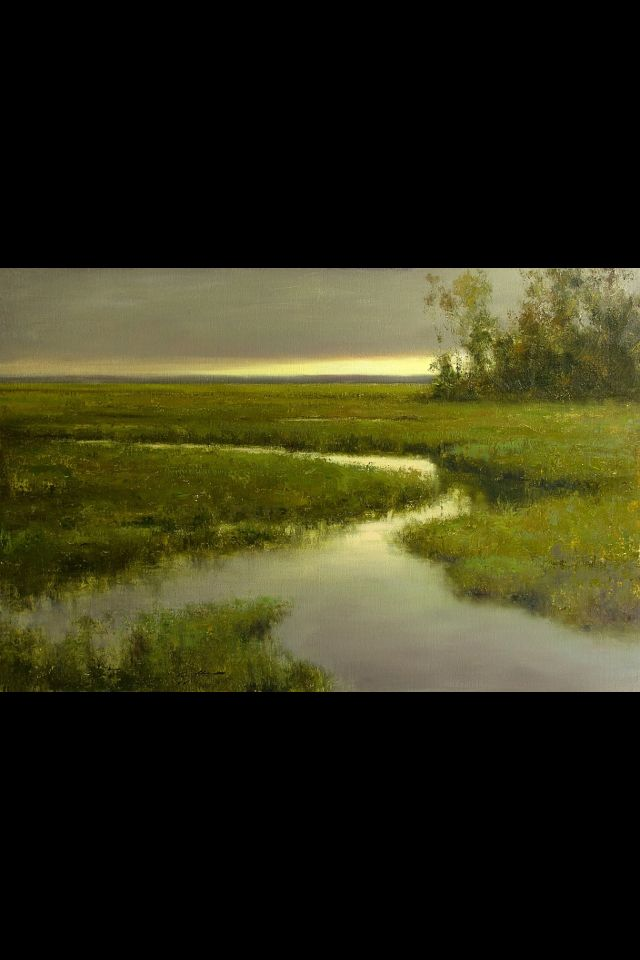 """""""Evening on the Salt Marsh"""" by Matthew J. Cutter"""