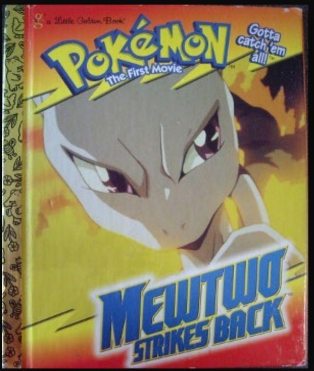 Pokemon: MewTwo Strikes Back - Little Golden Book
