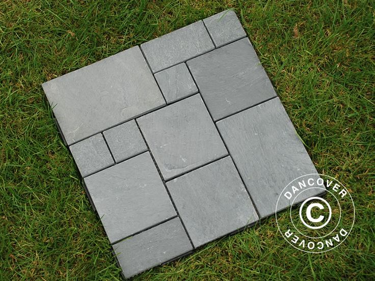DECKING TILES CLICK-FLOOR, NATURAL STONE, 30X30 CM, 9 PCS/BOX, GREY Decking tiles Click-Floor with natural grey stone is both popular and maintenance-free. These tiles will provide you with a durable and sturdy stone floor on your patio, garden, in the conservatory or around the pool. The tiles are easy to lay with a simple and effective click system.