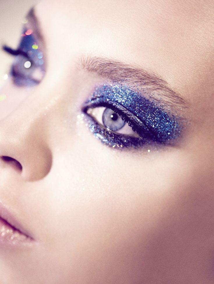 Vogue UK - Catherine Servel - 2009. Makeup by Lisa Eldridge http://www.lisaeldridge.com/gallery/editorial/ #Makeup #Beauty #Fashion
