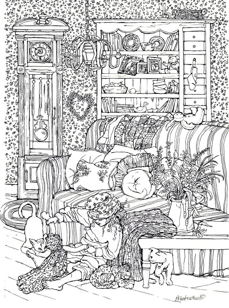 Pin de gwen en coloring and drawing pinterest colorear for Debbie macomber coloring book pages